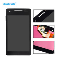 100 Tested Black For Sony Xperia V LT25 LT25I LCD Display Touch Screen With Digitizer Full