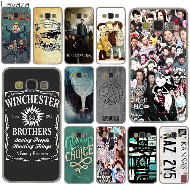 new photos a0351 df33d US $2.14 5% OFF|Lavaza Supernatural Jared Padalecki Hard Case for Samsung  Galaxy S9 S8 Plus S3 S4 S5 S6 S7 Edge S9 Plus Phone Cover-in Half-wrapped  ...