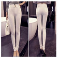 Slim Skinny Leggings Women Hip Trousers Elastic Mid Waist Pencil Pants Jeggings plus size sexy pants leggings boots leggings