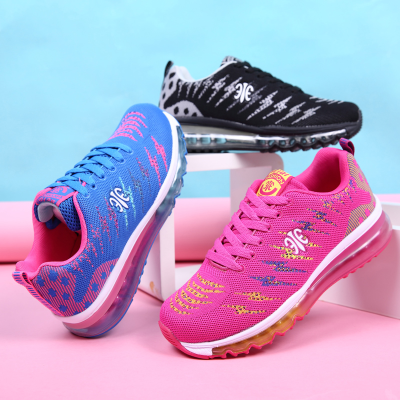Running shoes women sneakers Lightweight Female Outdoor Athletic air Canvas walking sport tennis Trainers outdoor sport shoes ...
