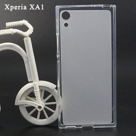 Transparent Soft Tpu Case For <font><b>Sony</b></font> Xperia XA1 Silicone Phone Cover For <font><b>Sony</b></font> XA1 G3121 <font><b>G3112</b></font> G3123 G3116 Dual 5.0 inch Phone Bags image
