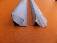 Free Shipping 1 meter/pcs Corner aluminum led housing, aluminum profile for led strip light led bar light width 12mm