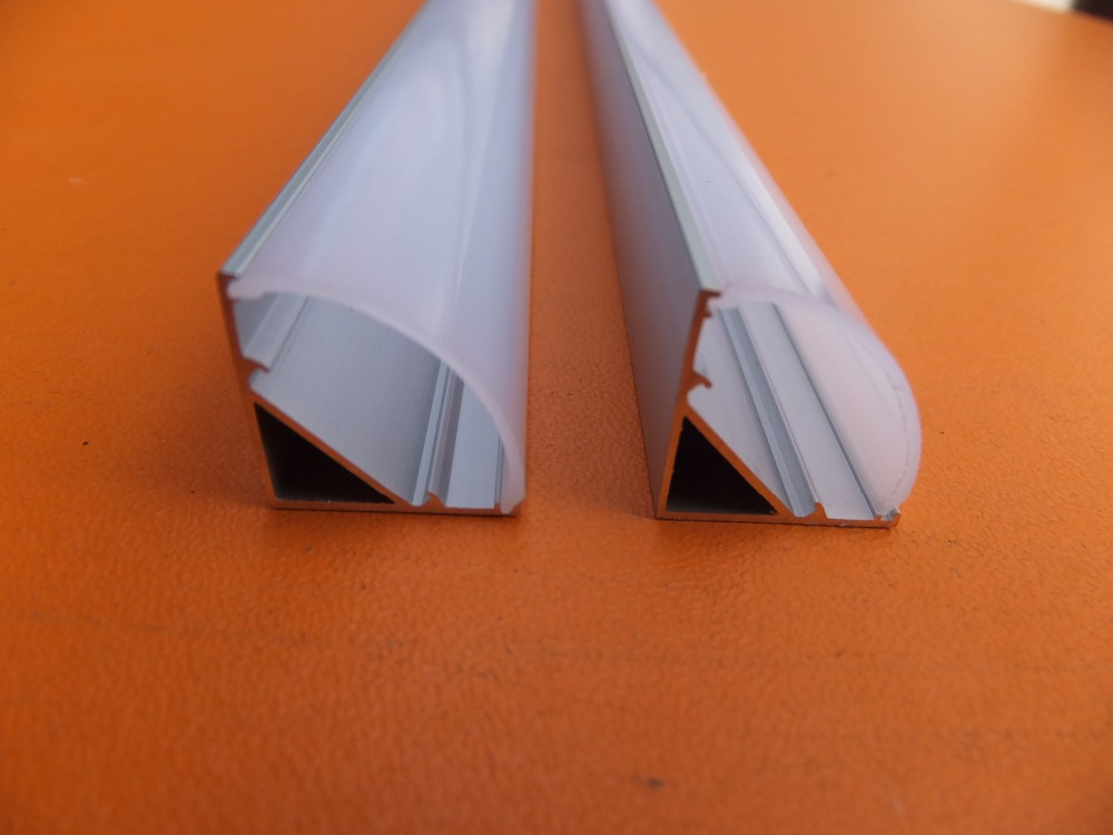 frete gratis 1 meter pcs canto de aluminio levou habitacao perfil de aluminio para a tira
