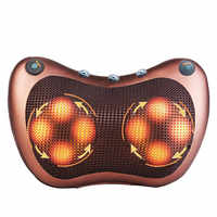 Massage Pillow Electric Neck Massager Multifunctional Shoulder Infrared Heating Magnetic Therapy Massage Relaxation Massageador