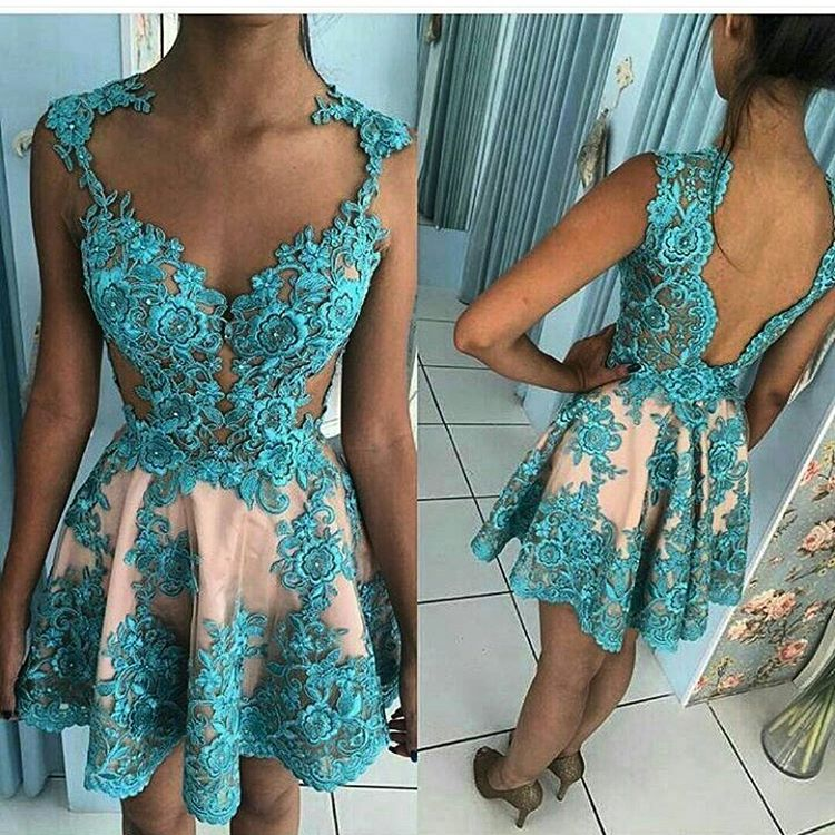 Cocktail     Dress   Short Prom   Dresses   2019 Evening Gowns