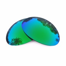 a2f34c95ce Green Mirrored Polarized Replacement Lenses for Romeo 1 Sunglasses Frame  100% UVA   UVB(