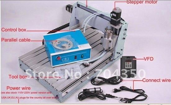 NEW 110VAC 6040Z+S DESKTOP CNC Router