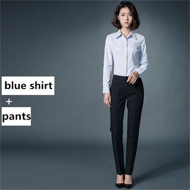 AYUNSUE 2020 moda praca w biurze koszule damskie jesień zima  VDBau