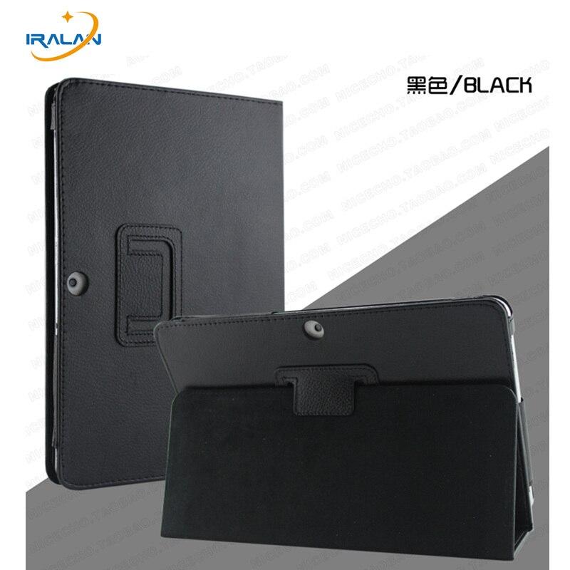 Litchi motif En Cuir Folio Case Pour Samsung Galaxy Tab 2 10.1 P5100 P5110 P7500 P7510 Tablet Flip Stand Housse de protection + stylo