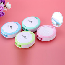 USB Eyelash Extension Tool Mini Fan Air Conditioning Blower Glue Grafted Eyelashes Dedicated Dryer With mirror tool