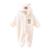 Marca Macacão de Bebê Recém-nascido de inverno de Flanela Quente de Manga Longa Roupas de Bebê Unissex Outono Meninos Meninas Roupas Dos Desenhos Animados Do Bebê Macacão