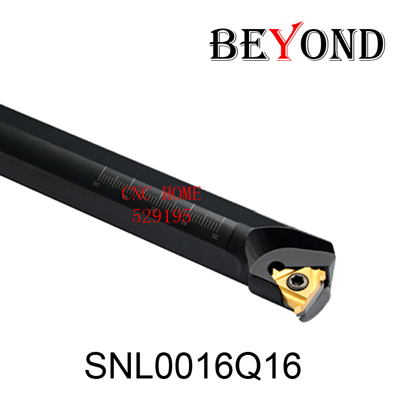 BEYOND Factory Outlets SNL0016Q16 SNL SNL0016 Turning Toolholder Threading Lathe Tools Cutter Boring Bar CNC Machine
