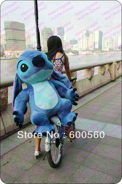 Fancytrader 39''  100 cm Dexule Huge Cute Giant Plush Stuffed Stitch Birthday Gift! Free Shipping Accept Dropshipping FT90090