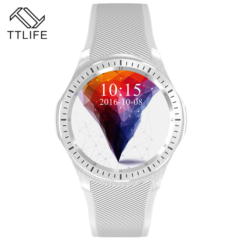 TTLIFE Capacitive Touch Key Smart Watch Sleeping Tracker Day Date Smart Wrist Watch GPS WIFI 3G Smart Watches For Android Ios