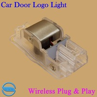 OCSION 2X Car Door Welcome Light For Citroen C4L Triumph Wireless 3D Projector Logo Laser Ghost