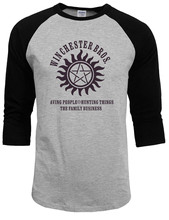 Supernatural Winchester Bros O-neck T-Shirt