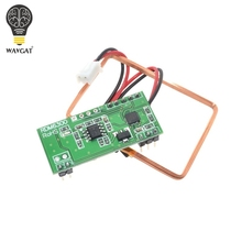 WAVGAT 125Khz RFID Reader Module RDM6300 UART Output Access Control System for Arduino Best prices(China)