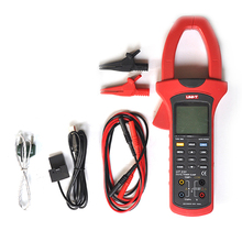 Sale UT231 Single-phase 2-wire 600KW Power Clamp Meter True RMS Digital Clamp Meters Power Factor Phase Angle USB Data Logging