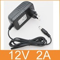 1PCS 12V2A AC 100V-240V Converter Adapter DC 12V 2A 2000mA Power Supply EU  Plug  5.5mm x 2.1-2.5mm for LED CCTV