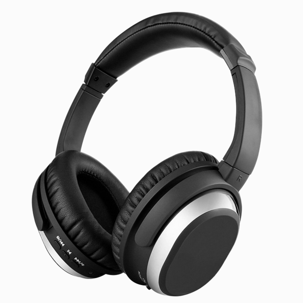BH519 Over-ear Type ANC Multifunctional Active Noise Reduction Bluetooth 4.0 Wireless Headset High Fidelity Stereo Headphone