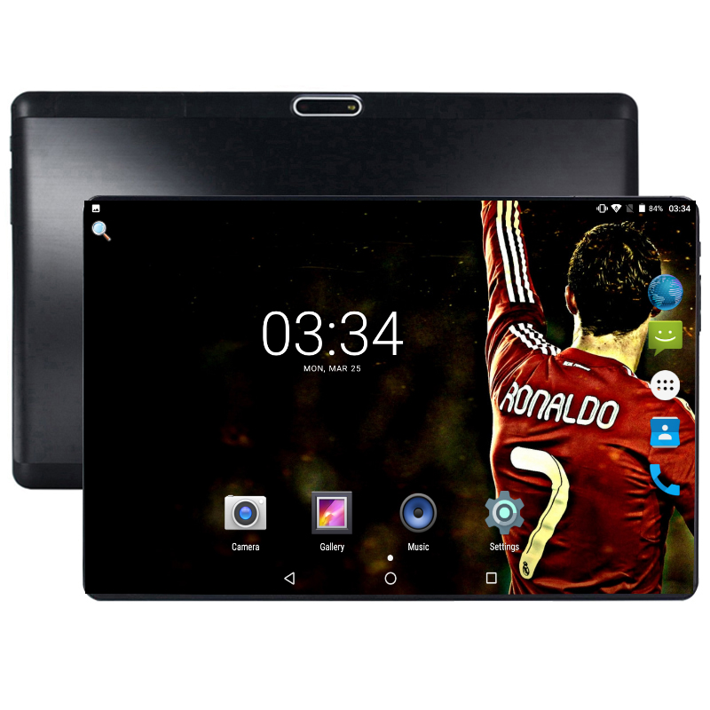 <font><b>MTK8752</b></font> Octa Core 3G 4G LTE Tablet 4GB RAM 64GB ROM 1280X800 5MP Android 8.0 Tablet 10 inch GPS Mobile phone tablet 10.1 image