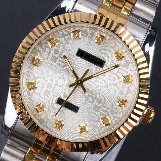 free shipping Balle luxury diamond stainless steel quartz wrist watch W09100