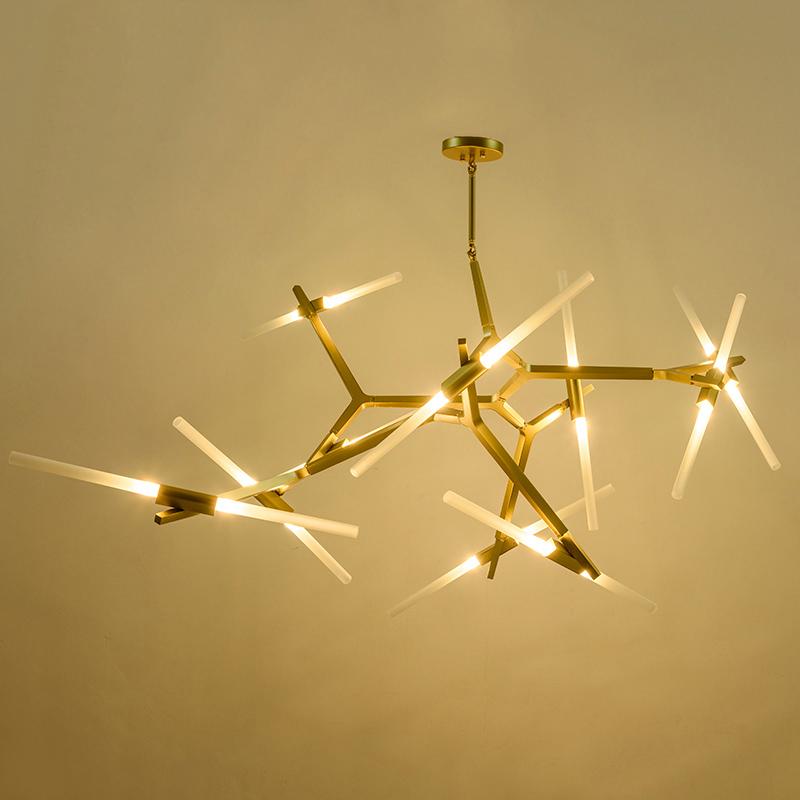 Creative-Branch-Arts-Roll-Hill-Agnes-Pendant-Light-lamp-Modern-Italian-Design-Personality-Living-Room-Restaurant