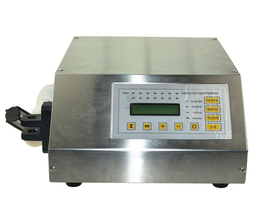 Digitális vezérlőszivattyú ivóvízfolyadék-töltő gép GFK-160 5-3500ml