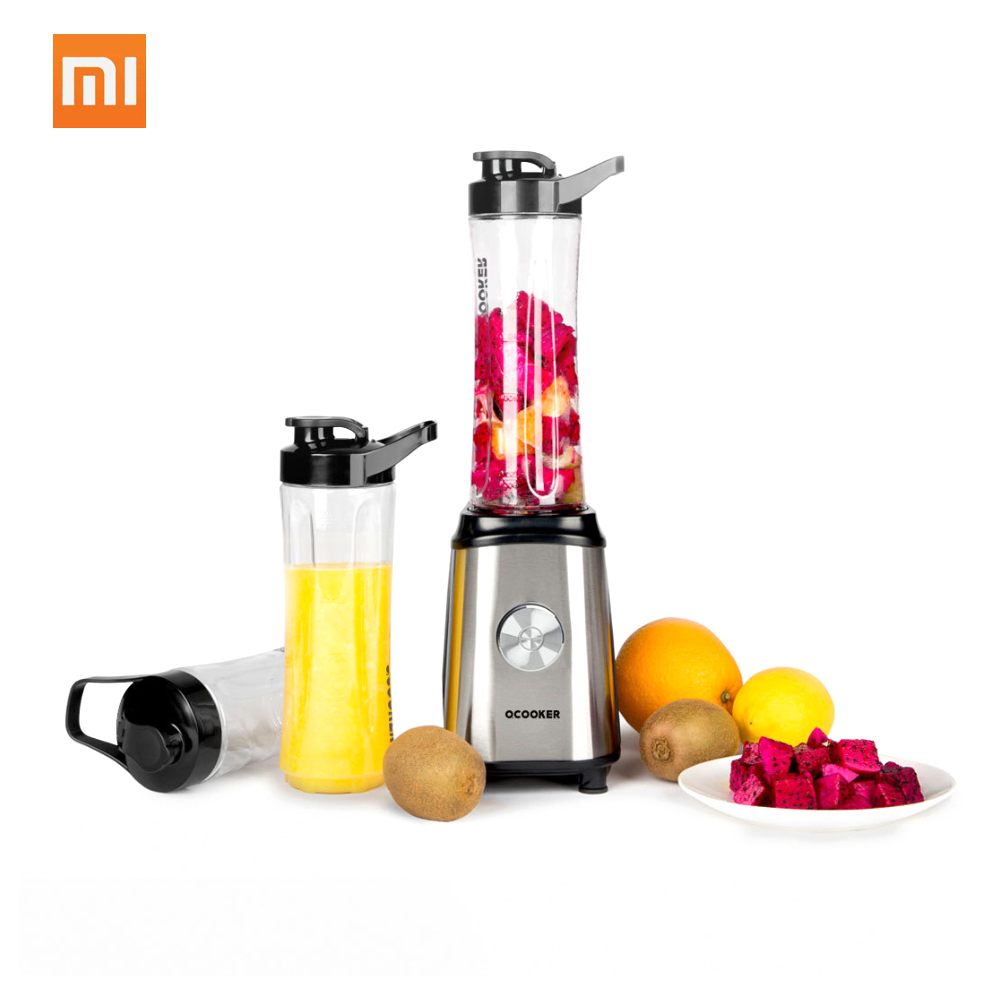 Xiaomi Ocooker Portable Juicer Baby Fruit and Vegetable Cooking Machine Point Switch 304 Stainless Steel 8 Seconds Soup Machine xiaomi ocooker portable juicer baby fruit and vegetable cooking machine low noise cooling system dustproof design diy drinks