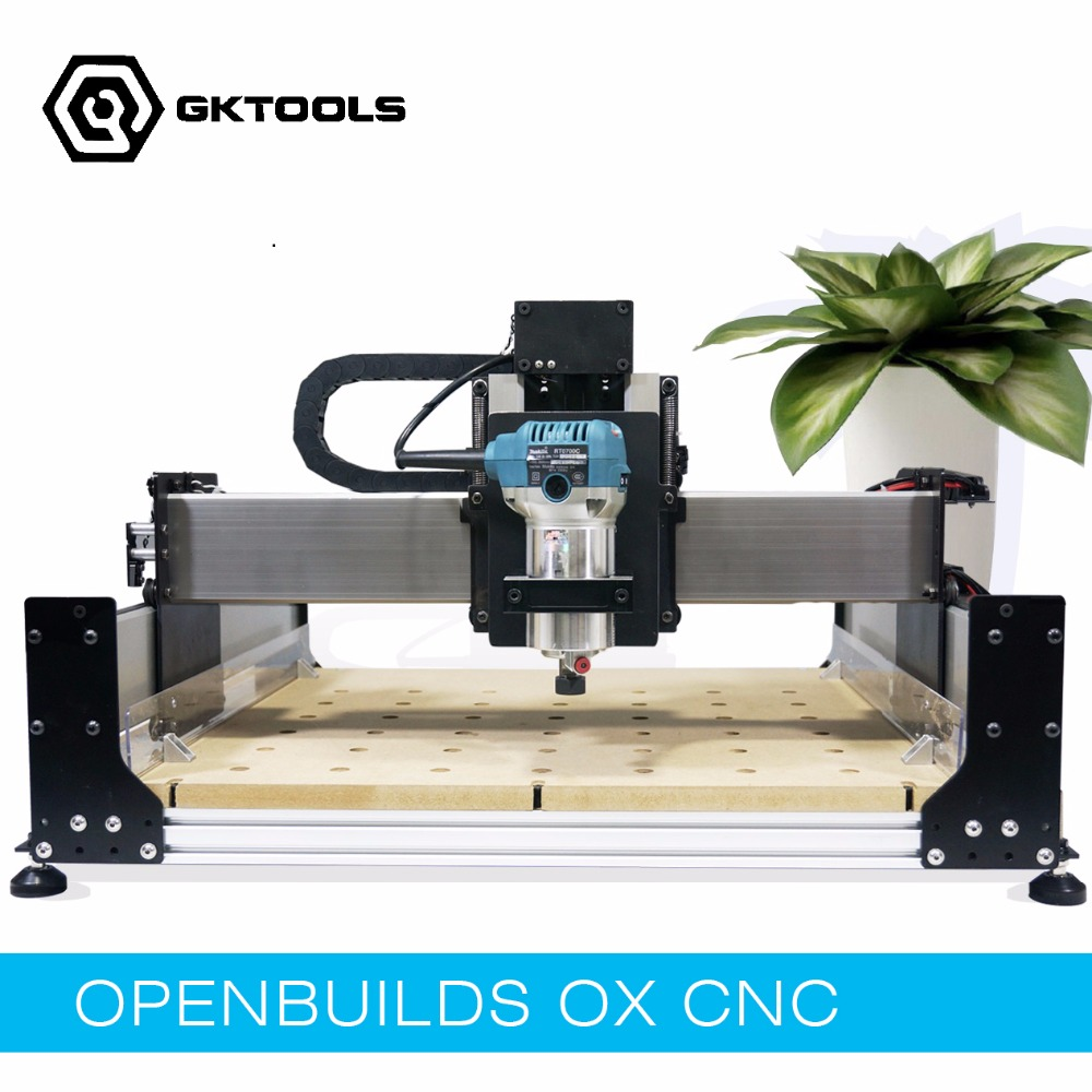 GKTOOLS CNC Engraving Machine DIY OPENBUILDS Medium Type Large Scale Small Scale CNC  Processing Wood Metal  Plastic