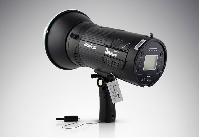 NiceFoto N Flash 680A 680W Portable Wireless LED Photo Studio Speedlite Flash Light