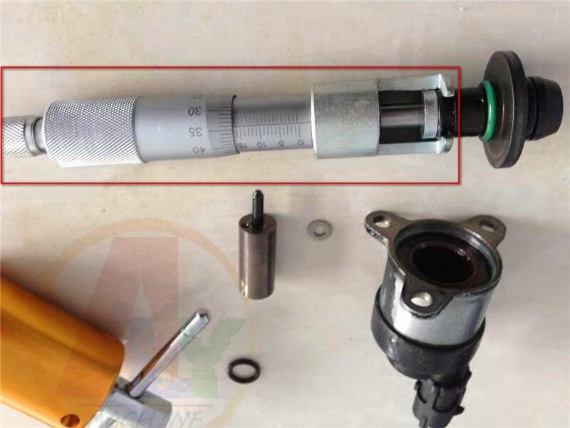 Common rail injecteur valve unité De Mesure outil de réparation, common rail injecteur réparation outil