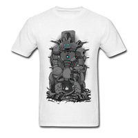 Star Wars Robot T Shirt 2018 Men Short Sleeve Cotton T Shirts On Sale Funny Design