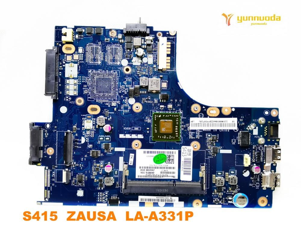 Original For Lenovo S415 Laptop  Motherboard S415  ZAUSA  LA-A331P Tested Good Free Shipping