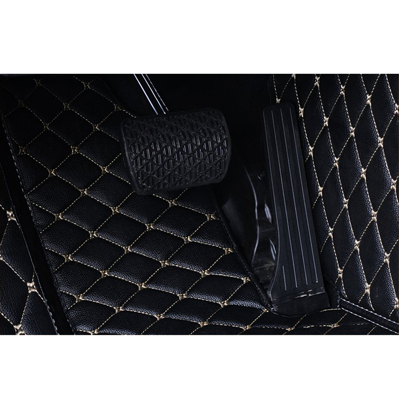 Image 5 - Flash mat leather car floor mats for Tesla Model S 2014 2015 2016 2017 2018 Custom foot Pads automobile carpet car covers-in Floor Mats from Automobiles & Motorcycles
