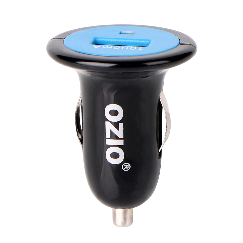 Ozio Dc 5v 1000ma Mini Car Charger T10 Usb Power Adapter Fast Psp Charging For Smartphones Mp3 4 Gps Digital Camera Etc Free Shipping Worldwide
