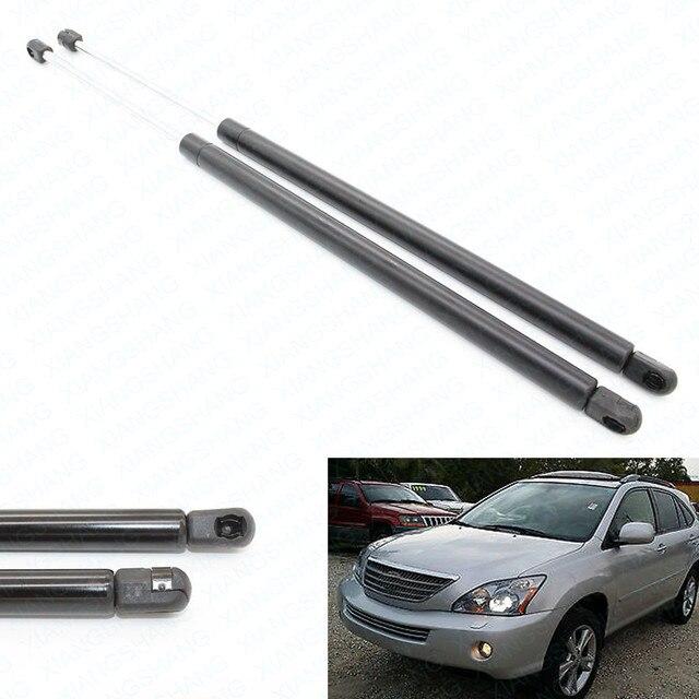 Ajustes para 2007-2008 Lexus RX400h Elevador Arranque Cargada de Gas Lift Apoya Choques Struts Spring Prop Brazo
