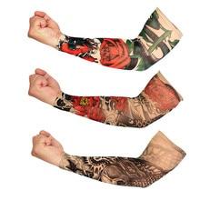 † Нейлон Эластичный Татуировки Рукав для Мужчин  Женщин  Подогревателей Унисекс УФ-Защиты На