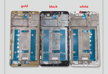 For Huawei Ascend Mate 7 Front Bezel frame LCD Display TP Digitizer Assembly Replacement Parts For Huawei Ascend Mate 7 suitable for huawei ascend mate 7 l09 mt7 tl10 lcd screen display touch panel digitizer assembly full replacement parts