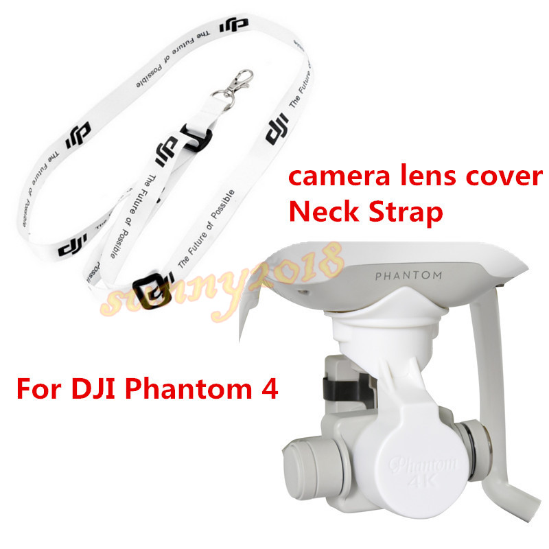 DJI Phantom 4 3 Upgrade Accessories camera lens cover + remote control lanyard Shoulder Strap Neck Strap Belt Sling