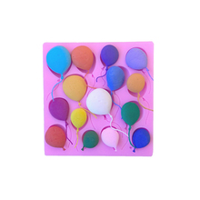 цены 4YANG DIY Balloon Cake Border Silicone Molds Birthday Fondant Cake Decorating Tools Gumpaste Chocolate Cupcake Candy Clay Moulds