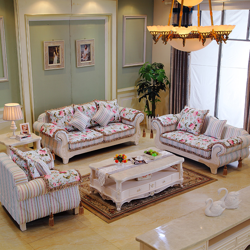 European Style Sofa Korean Garden Sofa Mediterranean Large sized Apartment  Furniture Simple Carved Wood Sofa Combination. Compare Prices on Korean Home Furniture  Online Shopping Buy Low