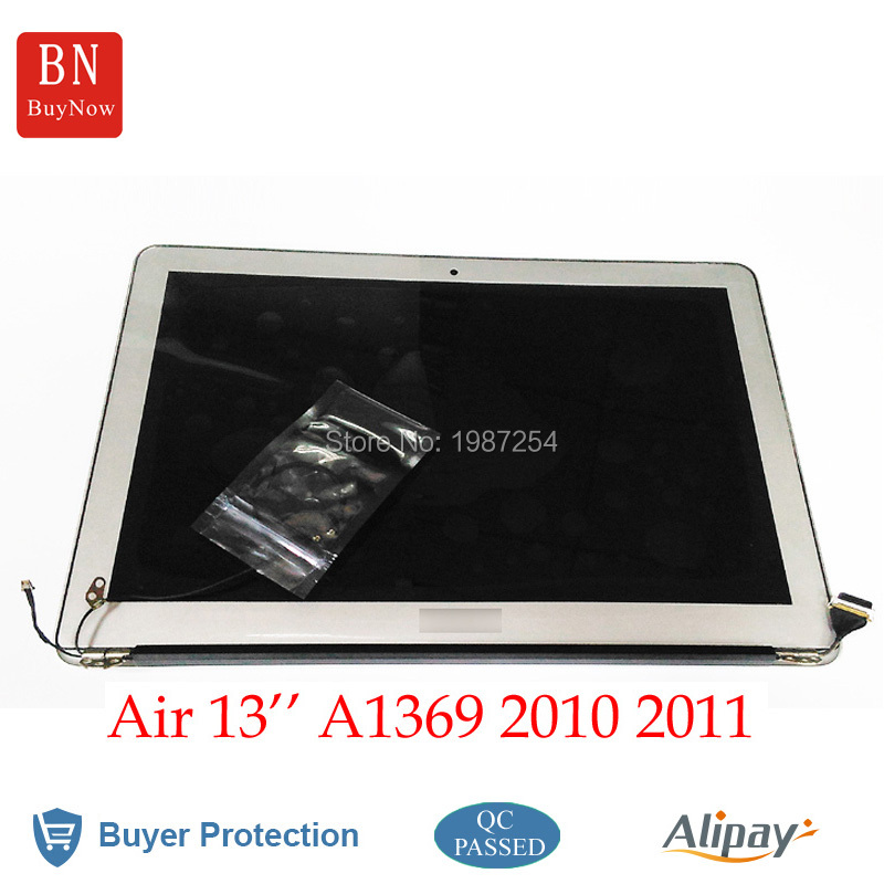 MC503 MC504 MC965 2010 2011 For Apple Macbook Air 13 A1369 Complete LCD Screen Assembly