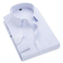 930f15ecb6c 2019 marca nueva camisa de los hombres Hombre Camisas de rayas casuales de  la moda de los hombres de manga larga Formal camisa s.