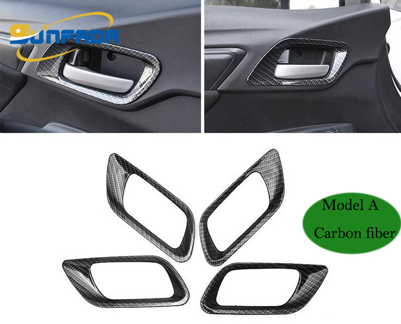 Steering Wheel Trim Cover Interior Sew Kit For Honda 2009 Jazz GD2 Carbon Fiber
