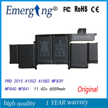 11 42V New Original font b Laptop b font font b Battery b font A1582 for