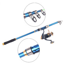 Fishing Rod High Quality Carbon Fiber Telescopic Tod 1.8-2.1m Bara De Pescar Performance Travel Sea rockfishing