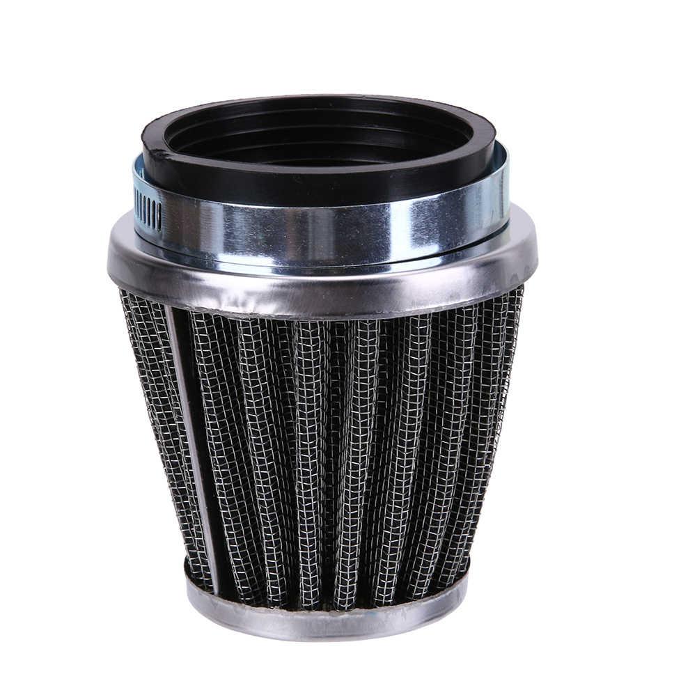 Promotie 39mm 2 Layer Stalen Netto Filter Gaas Motorfiets Paddestoel Klem-op Luchtfilter Cleaner Auto styling Interieur accessoires