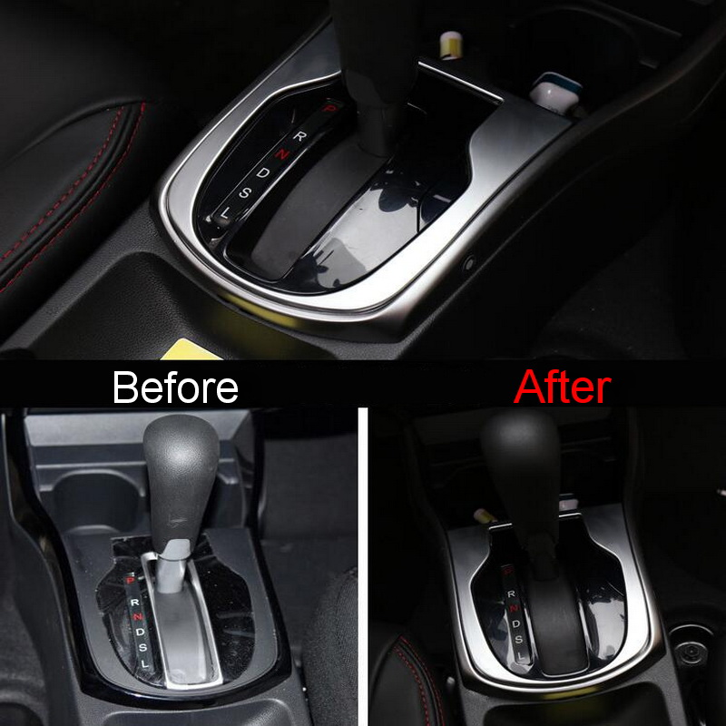 ... Accessories For Honda City. Genial 1 PCS Car DIY NEW ABS Matt Inner The  Central Stall Bit Light Cover Case