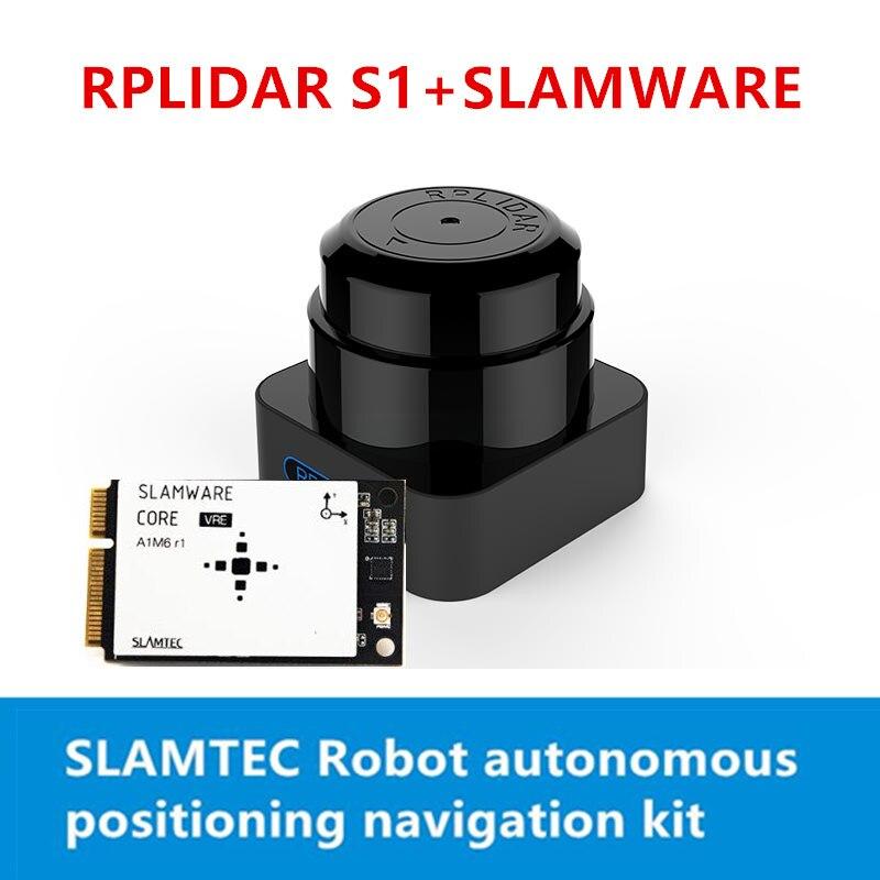 Kit de navigation de localisation autonome SLAM tec RPLIDAR S1 lidar + claquement